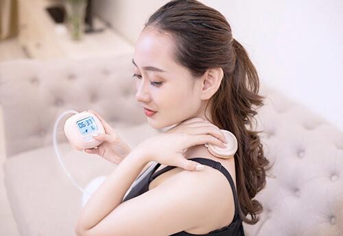 Tính năng massage của máy hút sữa hegen