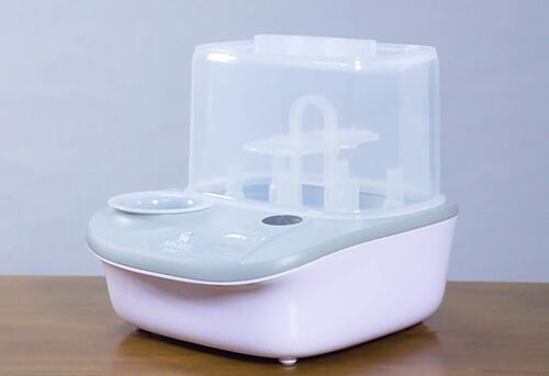máy tiệt trùng bình sữa moaz bebe
