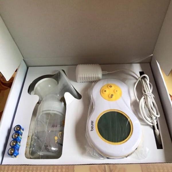 review máy hút sữa beurer