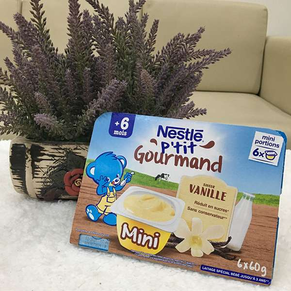 Trải nghiệm váng sữa Nestlé P'tit Gourmand