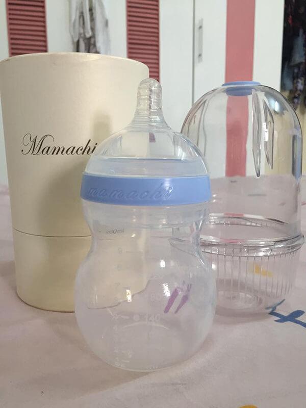 review bình sữa mamachi