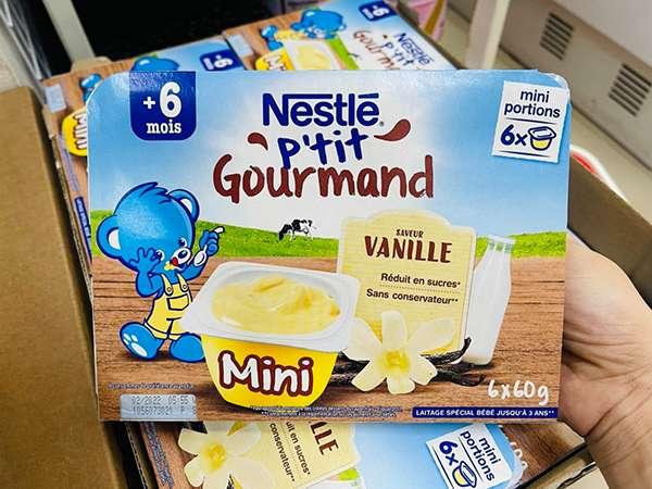 review váng sữa nguội nestle pháp