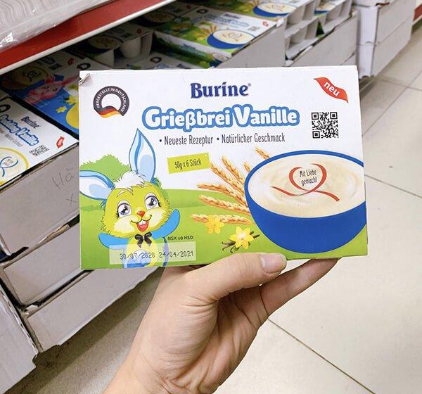 trải nghiệm thực tế váng sữa Burine