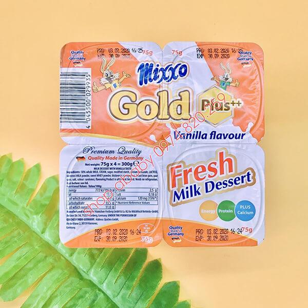 trải nghiệm thực tế váng sữa mixxo gold plus