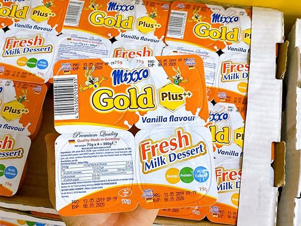 váng sữa mixxo gold plus đem lại nhiều tác dụng cho trẻ