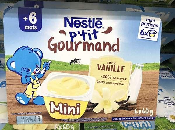 váng sữa Nestle có xuất xứ từ thuỵ sĩ và sản xuất ở pháp