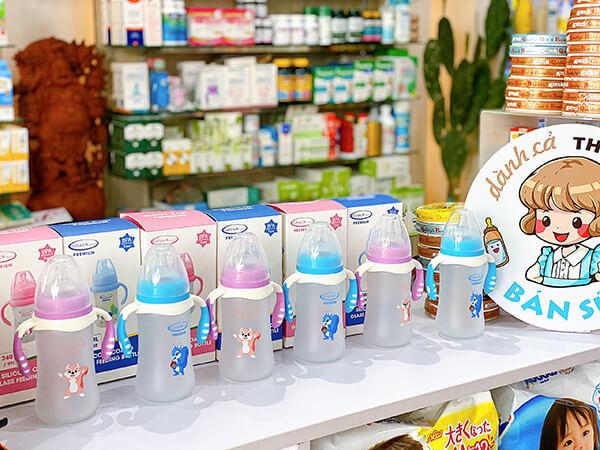 bình sữa silicon gluck premium
