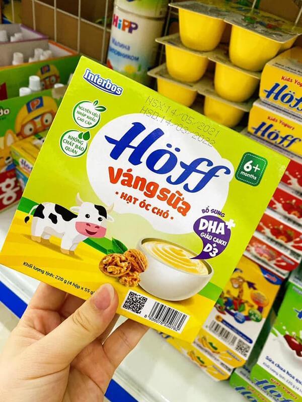 người dùng phản hồi khá tốt về váng sữa hoff
