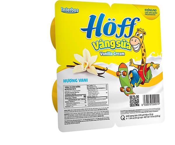 váng sữa hoff phù hợp với trẻ trên 6 tháng